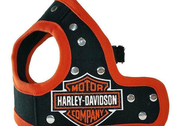 Harley Davidson Orange Harness