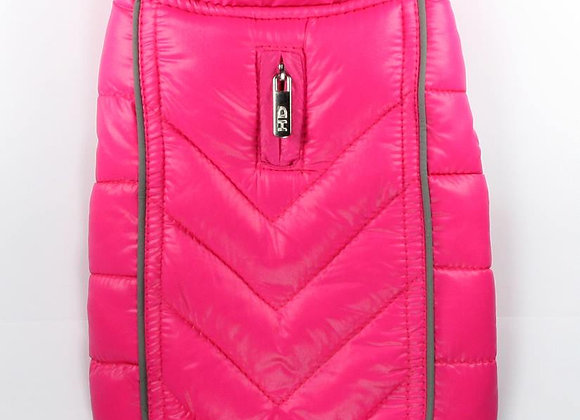 Reversible Pink Puffer Vest