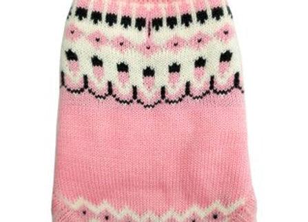 Pink Icelandic Sweater