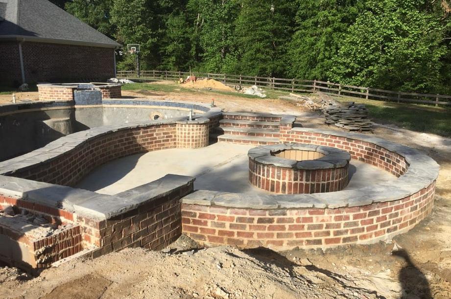 Fire Pit Construction 1