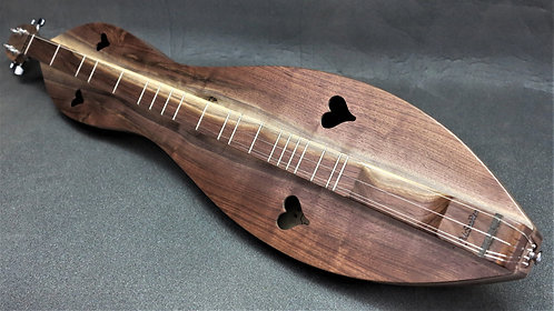 McSpadden Walnut Hourglass Mountain Dulcimer
