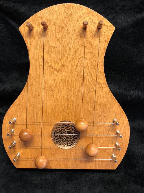 Door Harp - Birch w/Celtic Knot
