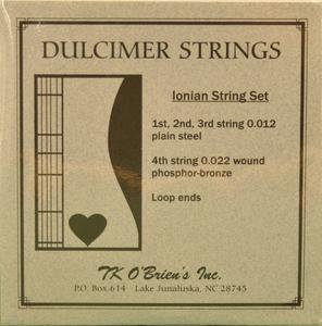 TK O'Brien Mountain Dulcimer String Set