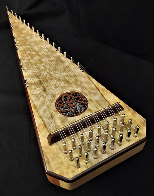 2 Octave - Quilted (?) Bowed Psaltery