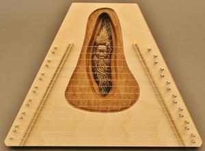 Wood Spirit Plucked Psaltery