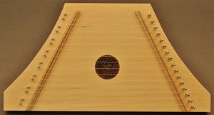 Custom Natural Plucked Psaltery