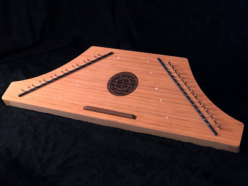 Hammered Psaltery - Natural Finish Key of C