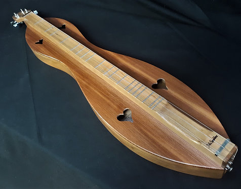 McSpadden Cherry Hourglass with Redwood Top