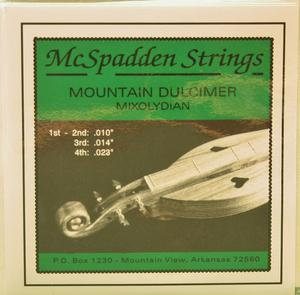 Mountain Dulcimer String Set - McSpadden Mixolydian Mode
