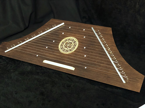 Hammered Psaltery - Walnut Finish Key of C