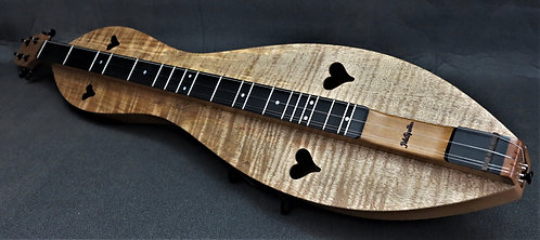 McSpadden Curly Mango Hourglass Mountain Dulcimer