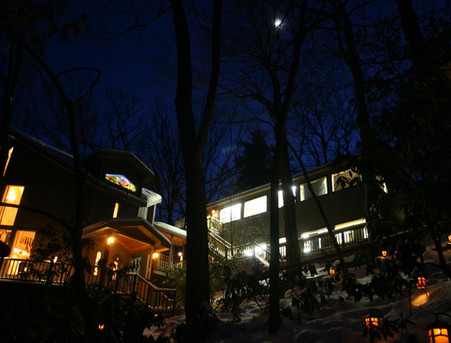 Workshop and Studio at Night