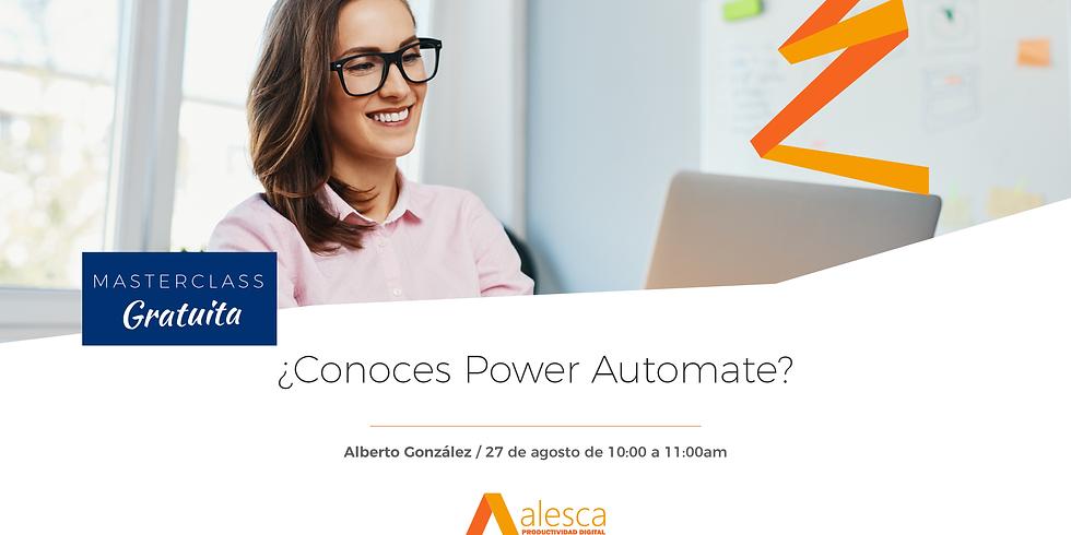 ¿Conoces Power Automate?