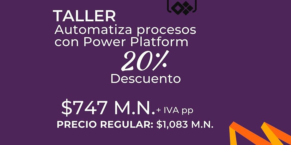Taller Automatiza Procesos con Power Platform
