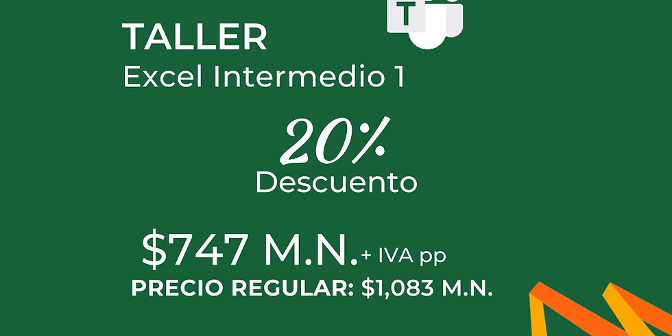Taller Excel Intermedio 1