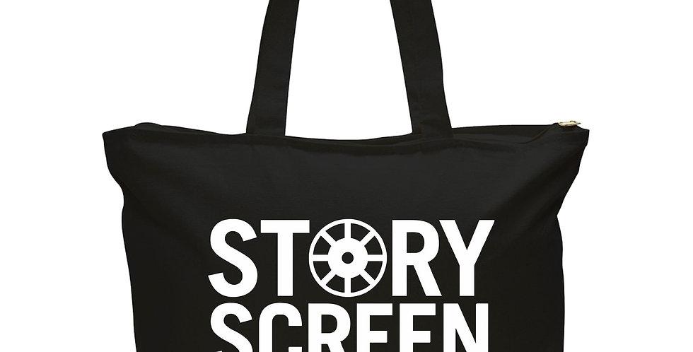 Story Screen Tote Bag