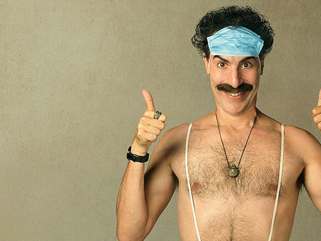 PODCAST: Hot Takes - Borat Subsequent Moviefilm