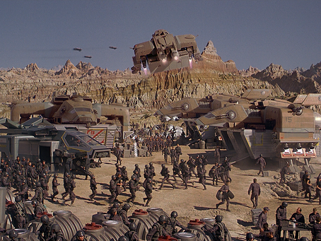 Starship Troopers: Ideals, Intensity and Irony