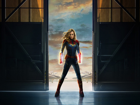 Captain Marvel, Personal Power, and Going Further, Faster, and Higher