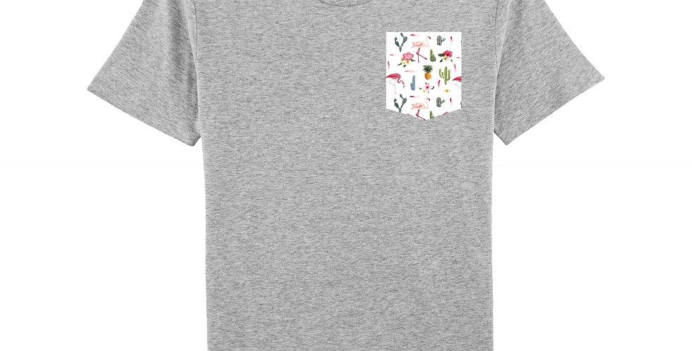 Flamant, Cactus & Ananas - organic cotton unisex T-shirt