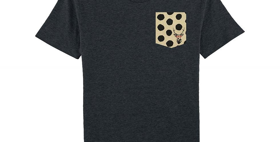 Cerf Rouge - organic cotton unisex T-shirt