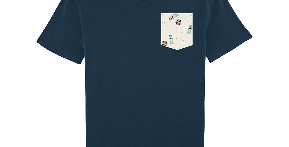 Dame à la Plage - organic cotton unisex T-shirt