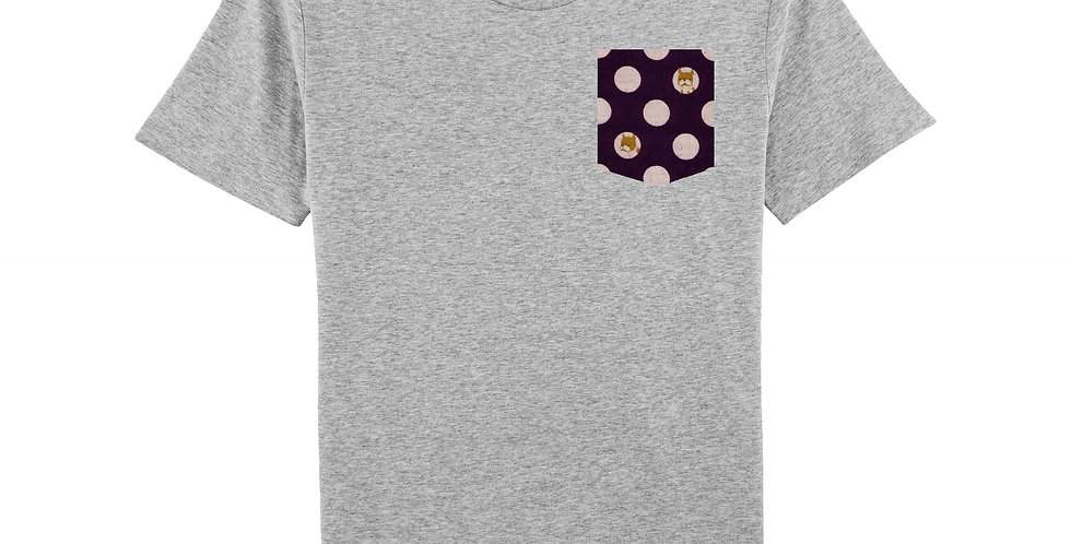 Chien - organic cotton unisex T-shirt