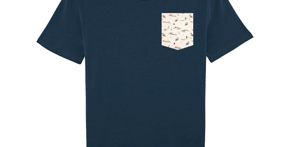 Nageurs - organic cotton unisex T-shirt
