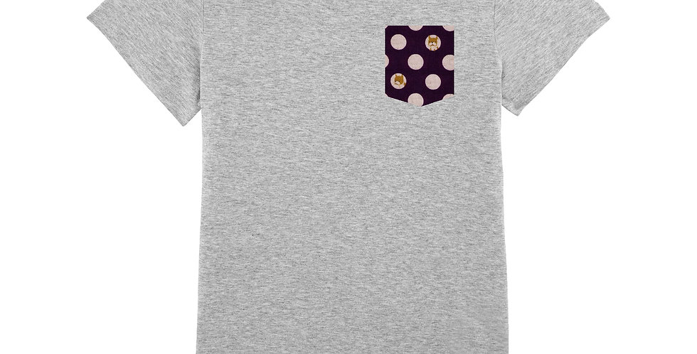 Fitted T-shirt - Chien - Women