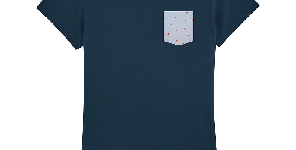 Fitted T-shirt - Coeur - Women