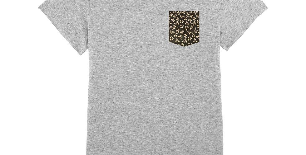 Fitted T-shirt - Cerises - Women