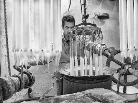Sant'agnello - fabbrica candele