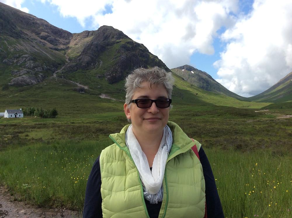 Scottish Highlands this summer.