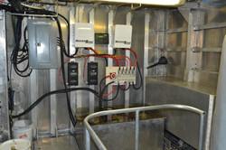 Solar control invertors and batteries