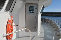 Starboard side Pilothouse door