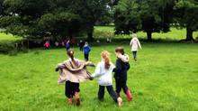 School Visit to Drumcliff South Ringfort