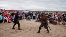 Remembering The Armada event at Streedagh beach