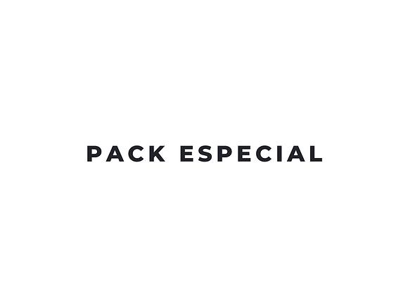Pack especial - 3 sesiones