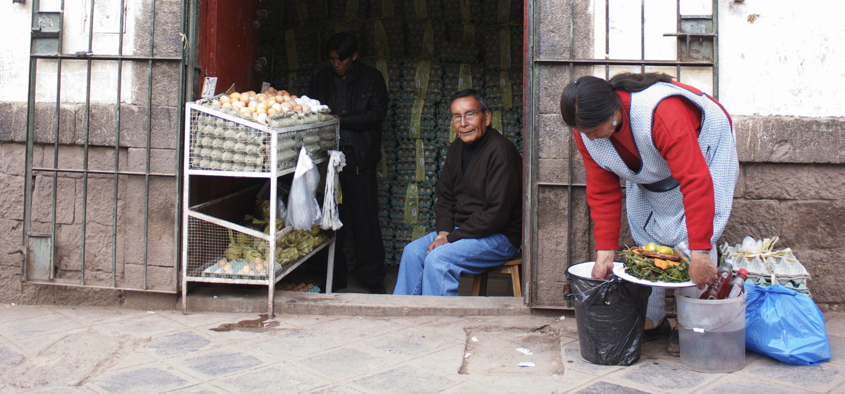 El Hombre De Huevo - Peru
