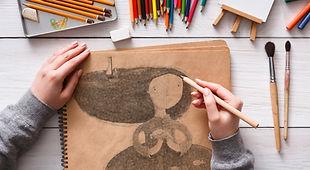 Artiste Sketching