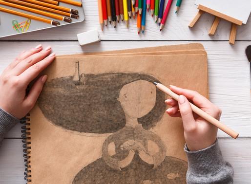 Les premiers pas pour apprendre à dessiner 2/2