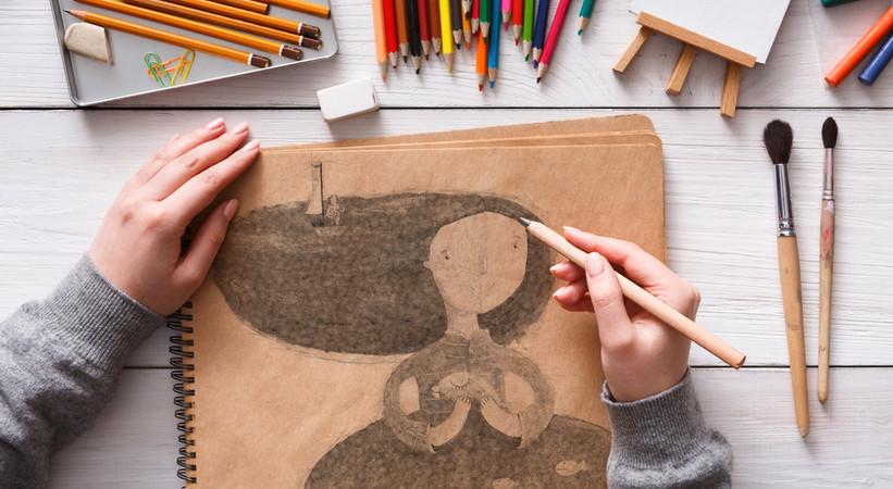 Sketching Artist