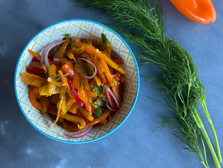 Bell Pepper and Dill Salad