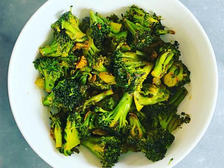 Tandoori Spiced Broccoli Stir Fry