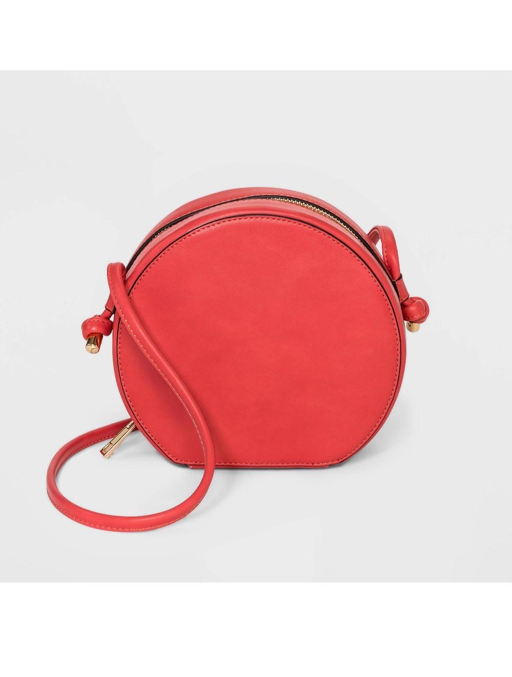 Circle shape handbag