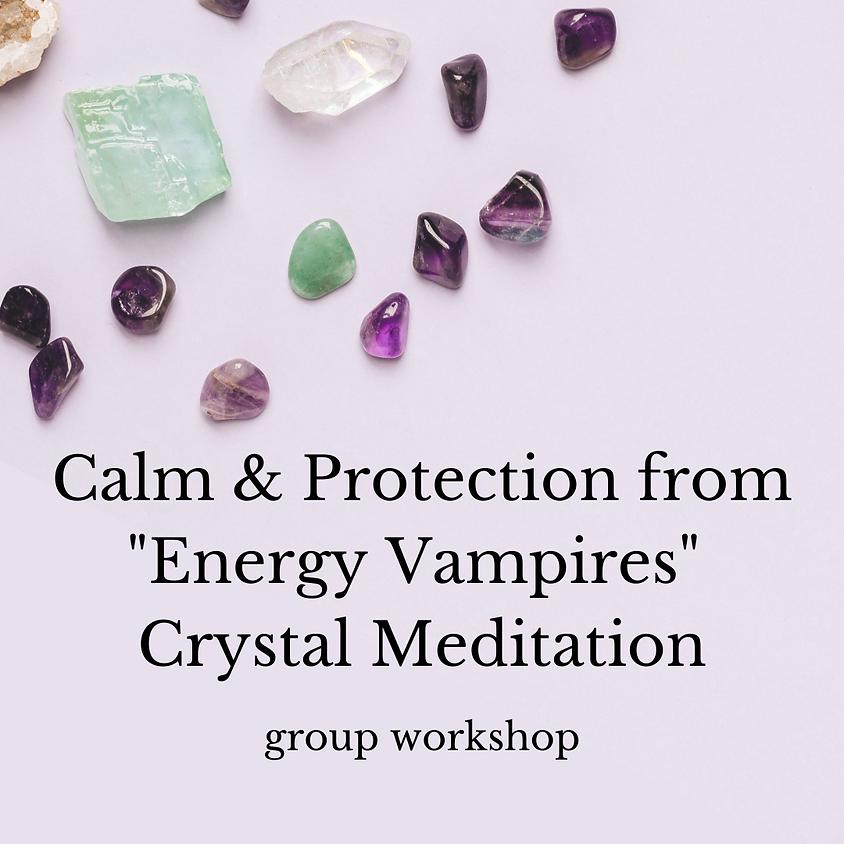 Black Tourmaline Crystal Meditation