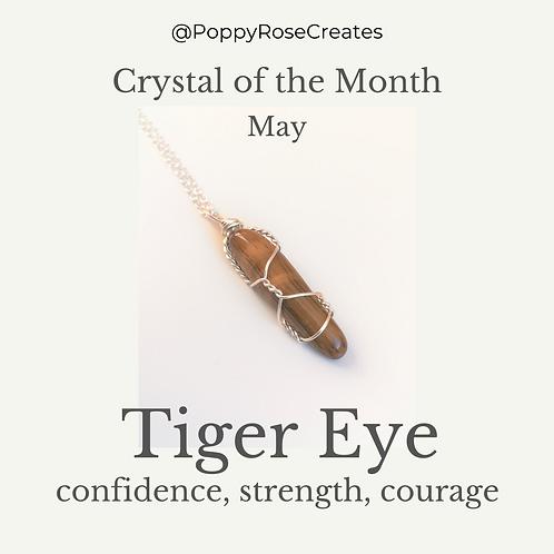May - Tiger Eye