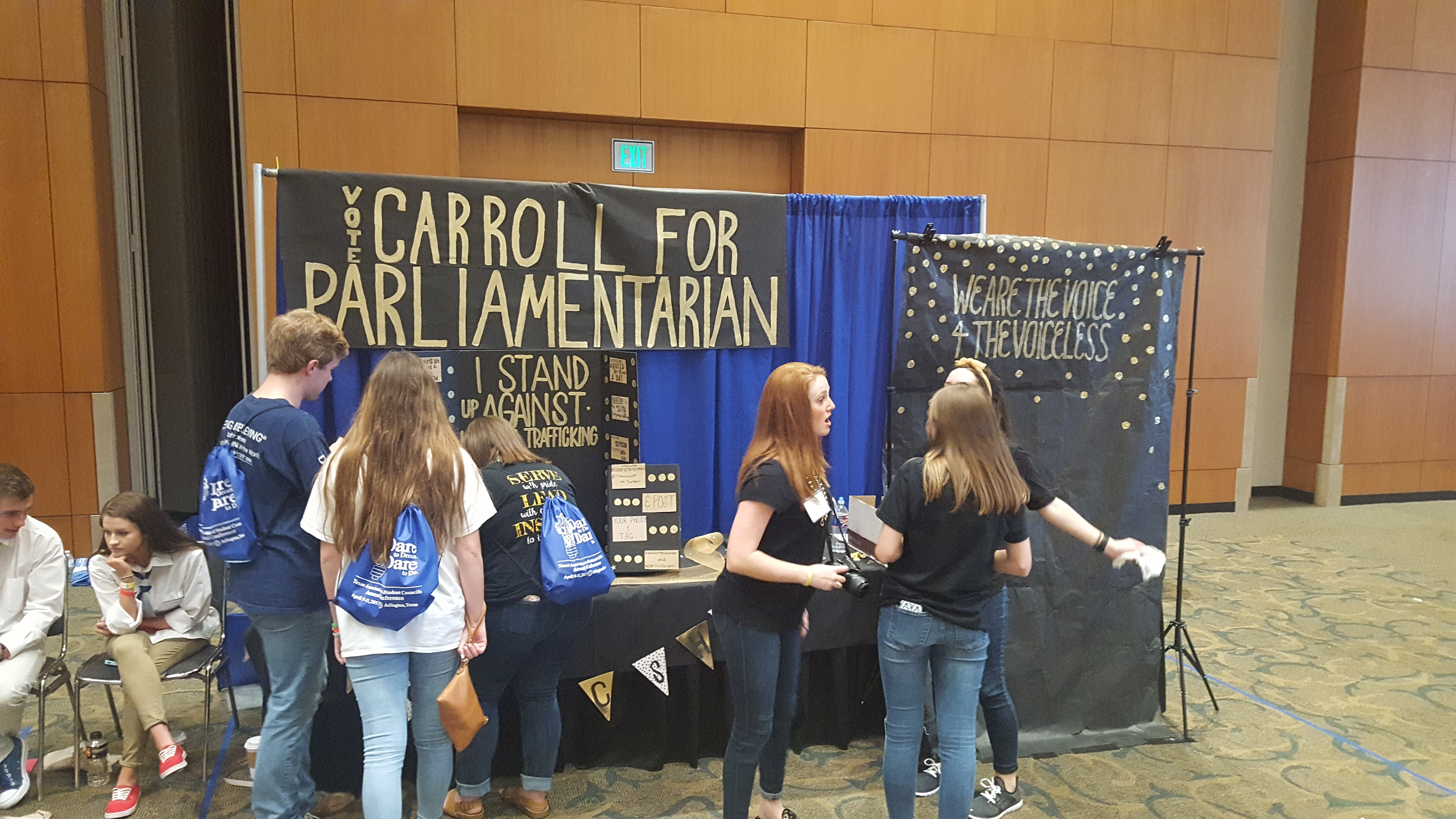Running for state parliamentarian