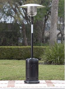 Outdoor Patio Heater with Wheels, 46,000 BTU, Now $149.99 (Reg. $499)