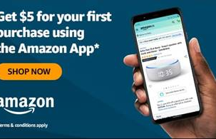 Get $5 OFF Your First Amazon App Purchase!